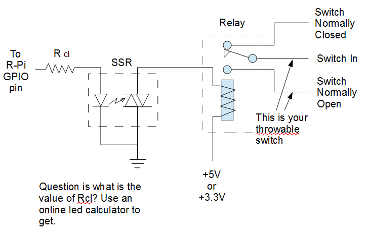 Simple Relay Circuit Raspberry Pi Forums