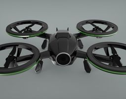 x-black-drone-quadcopter-3d-model-animated-sldprt-sldasm-slddrw